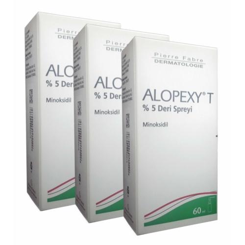 Pierre Fabre Alopexy T %5 Deri Spreyi 60 Ml 3 Lü Paket
