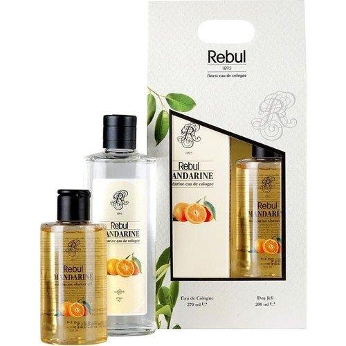 Rebul Mandarine Kolonya 270Ml Ve Duş Jeli Seti 200Ml